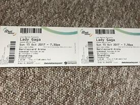 2 Lady Gaga Tickets