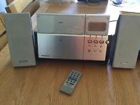 Panasonic CD player / stereo / radio / speaker
