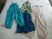 Big girls clothes bundle sizes 4 to 6 years around 50 items