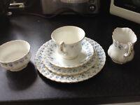 "Royal Albert ""Memory Lane"" Bone China Tea Service"