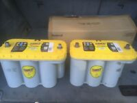 Yellow Top Battery for sale x 2