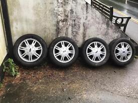 Ford Fiesta ka wheels ,