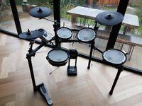 Roland V-Drums Electronic Electric Drum Kit V-Tour TD-15K (upgraded)
