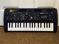RARE Korg MicroSampler Sampling Keyboard with Gooseneck Microphone