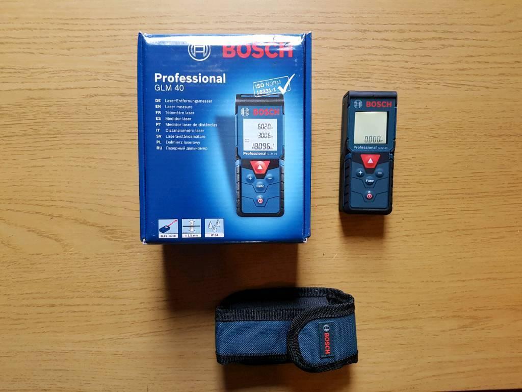 Bosch glm 40 lazer measure