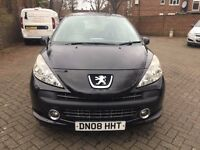 PEUGEOT 207 AUTOMATIC 1.6, YEAR 2008, FULL SERVICE HISTORY, VERY GOOD CONDITION, LADY OWNER
