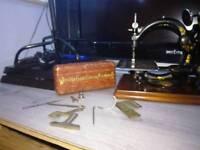 19 hundreds willcox and gibbs American sewing machine