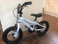 Kids bike 12inch wheel starter bike with stabilisers