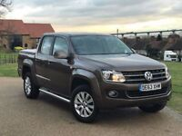 VW Amarok 2.0 BiTDi BlueMotion Tech Highline Pick Up Automatic 4Motion Full VW History HPI CLR 63REG