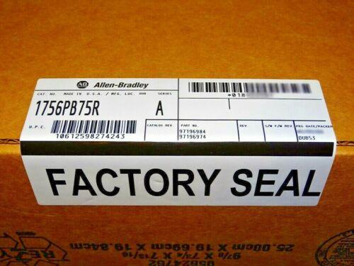 FACTORY SEALED Allen Bradley 1756-PB75R /A DC Power Supply Redundant