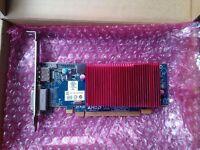 Silent low profile ATI Radeon HD6450 1GB GDDR3 PCI-E DVI + Displayport