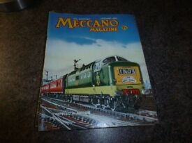 VINTAGE MECCANO MAGAZINES 1963. 12 x ISSUES ( JAN - DEC ) £25