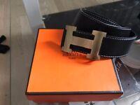 Gold Hermes Belt