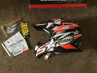 Brand new in box. Suomy Mr. Jump Bullet. Medium. Matt Black. Motor cross / off-road helmet