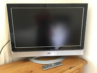 TV - JVC 32 inch widescreen LCD with remote control & instruction book. Excellent condition.