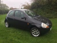 CHEAP CAR LOW MILEAGE FORD KA. 2008. MOT. SERVICE HISTORY - PART EX TO CLEAR
