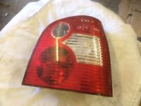 VW POLO 1.4 5DR 2004 O/S DRIVER SIDE REAR LIGHT
