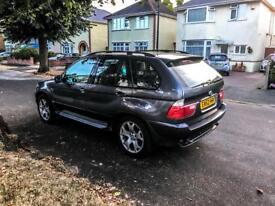 BMW X5 , long mot , full service history