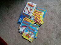 Large selection of Beano aand Dandy comics & library comic books plus waddington dandy card games