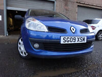 09 RENAULT CLIO EXTREME 1.2,MOT FEB 018,1 OWNER FROM NEW,PART HISTORY,2 KEYS,VERY LOW MILEAGE CAR