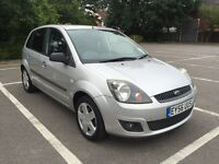 56 PLATE FORD FIESTA 1.4 TDCI 5 DOOR DIESEL 60,000 GENUINE MILES SERVICE HISTORY £30 ROAD TAX CLEAN