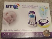 Brand new baby monitor - 360 with light show - BT