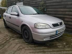 Vauxhall Astra 1.4 87k 12 months mot