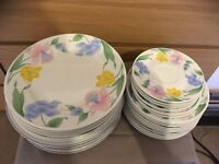 china plates floral pattern