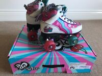 Rio Roller Cupcake boots size 3