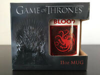 "Game of Thrones 11oz mug Targaryen ""Fire and Blood"", white mug, gift idea"