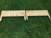 Garden Edging Boards x 2