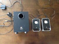 Logitech LS21 2.1 Speakers