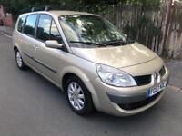 2007 Renault grand scenic 1.9 dci dynamique 7 seater mpv # cheap insurance model # 97 k