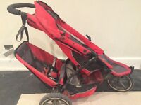 Phil and Ted explorer double pushchair