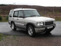 Land Rover Discovery td5 fsh low miles 117k possible swap