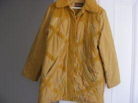 Designer Winter Coat Size 16.