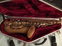 Yanagisawa Bronze Unlacquered Alto Saxophone A992