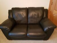 Excellent Quality Italian Leather 2 Seater Sofa