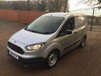 Ford transit courier connect 1.5tdci 2015 silver warranty til 2018 no vat !!!