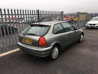1998 Honda Civic 1,5 litre 3dr automatic