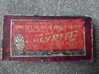 Vintage Darts by Flyrite in original box