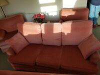 2 Sofa's very comfy in good condition with no rips and washable cushions