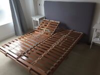 Hulsta bed frame for sale with remote control