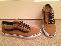 NEW! Vans shoes/trainers - unisex - UK 8 (mens) - like Converse
