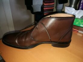 Massimo Dutti, brown leather shoes, size 12 (46)