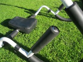 Ab roller sit up crunch equipment