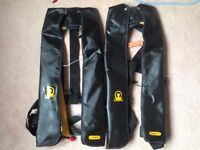 CREWSAVER CREWFIT Automatic lifejackets x 2 (TWO)