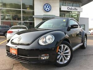 2015 Volkswagen Beetle Coupe Comfortline Leather Sunroof Bluetoo