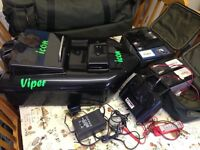 Icon viper bait boat with carry bag 5 Batteries