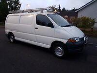 Toyota, HIACE,Long Wheel Base, 1998, 2494 (cc} Mot May 2022.transit.transporter.traffic.vivaro.caddy